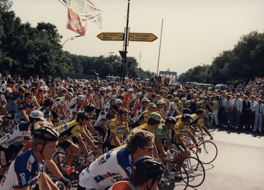 1987: Tour de France door ommuurd West-Berlijn