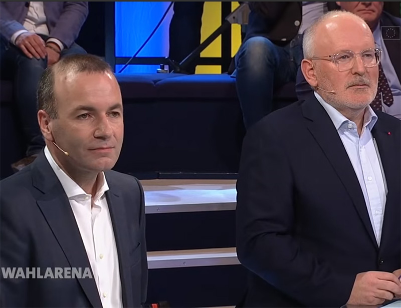 Timmermans en Weber behendig in debat