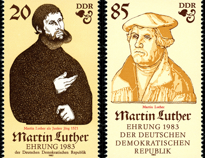 Luther in de DDR: van reformator tot revolutionair